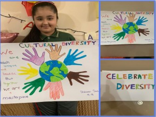 Cultural Diversity Activity by Students of The Bloomington Academy through E Learning