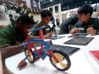 Young Innovators from The Bloomington Academy for EXPO2020