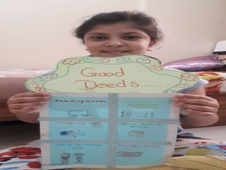 Ramadan Good Deeds Poster by Students of The Bloomington Academy through E Learning