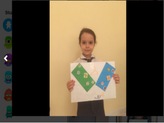 Learning Arabic Letter 'tha' by Students of The Bloomington Academy through E Learning