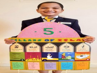 5 Pillars of Islam Activity by Students of The Bloomington Academy through E Learning