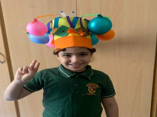 The stars of The Bloomington Academy, Ajman for making this funny hats day a cherishable one.
